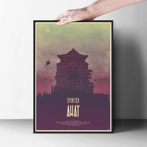 Spirited Away Poster - Hey Prints Designer Posters - 6