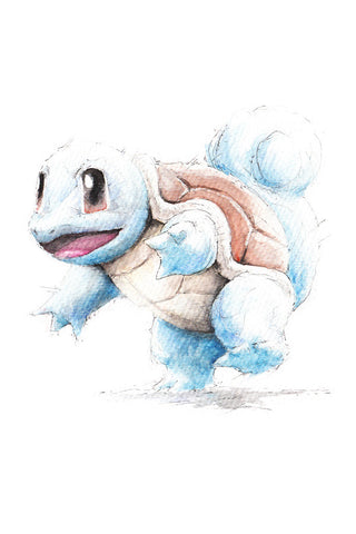 Pokemon Squirtle Poster - Hey Prints Designer Posters - 1