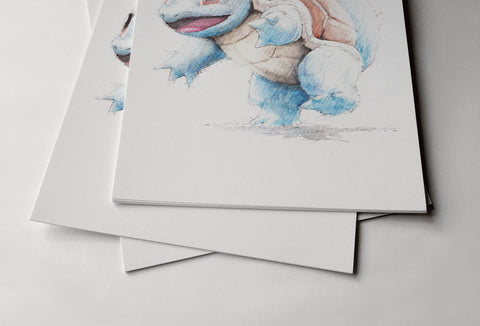 Pokemon Squirtle Poster - Hey Prints Designer Posters - 4