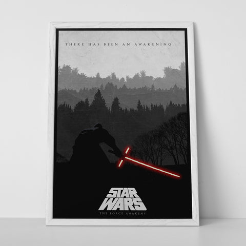Red Light Saber Poster - Hey Prints Designer Posters - 6