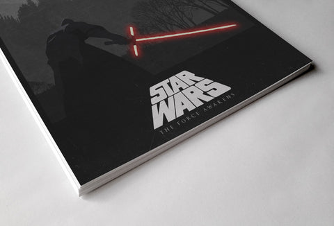 Red Light Saber Poster - Hey Prints Designer Posters - 3