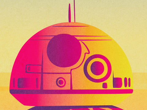 I am BB-8 Poster - Hey Prints Designer Posters - 2
