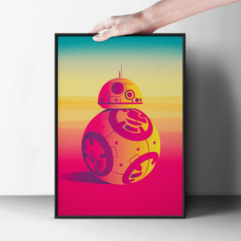 I am BB-8 Poster - Hey Prints Designer Posters - 6