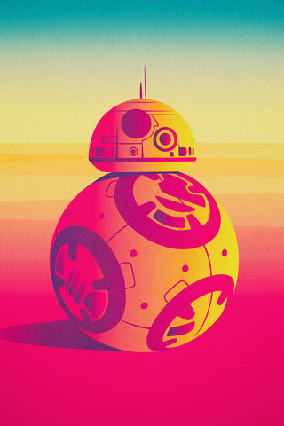 I am BB-8 Poster - Hey Prints Designer Posters - 1