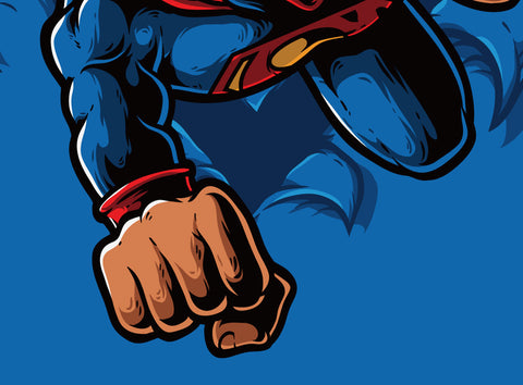 The Man of Steel Poster - Hey Prints Designer Posters - 3