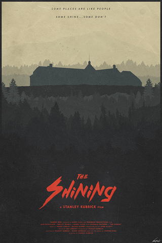 The Shining Poster - Hey Prints Designer Posters - 1