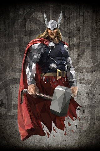 Thor Poster - Hey Prints Designer Posters - 1