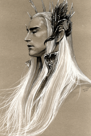 The Elven King Poster - Hey Prints Designer Posters - 1