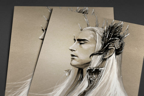 The Elven King Poster - Hey Prints Designer Posters - 5