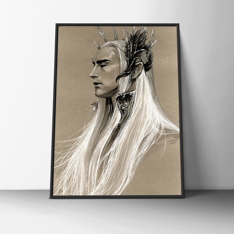 The Elven King Poster - Hey Prints Designer Posters - 6