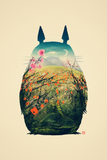 My Neighbor Totoro Poster - Quality Small and Large Posters - Hey Prints