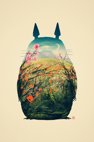My Neighbor Totoro Poster - Hey Prints Designer Posters - 1