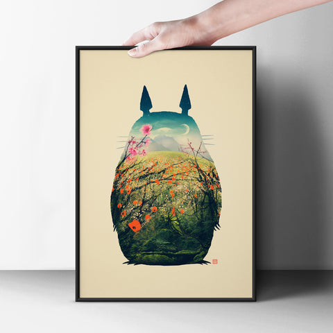 My Neighbor Totoro Poster - Hey Prints Designer Posters - 3
