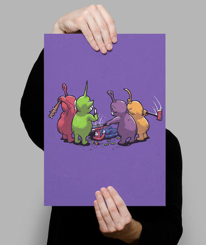 Tubby Buddy Beatdown Poster - Hey Prints Designer Posters - 6