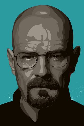 Walter White Poster - Hey Prints Designer Posters - 1