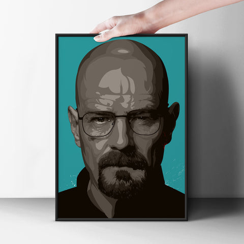 Walter White Poster - Hey Prints Designer Posters - 7
