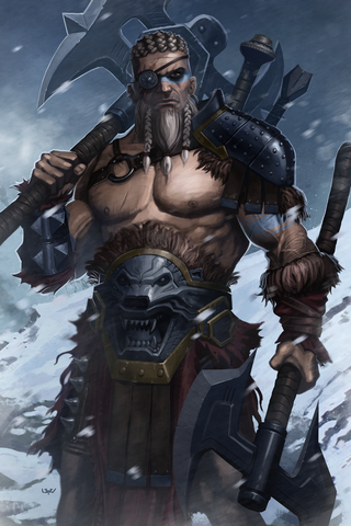 Barbarian Poster - Hey Prints Designer Posters - 1