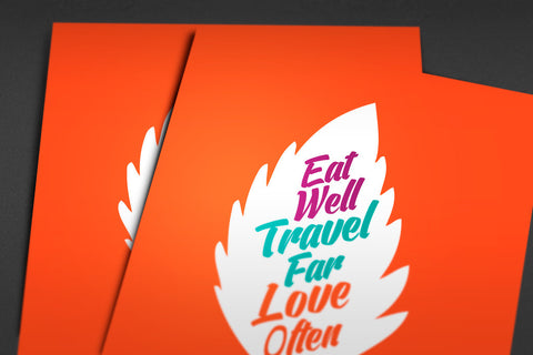 Eat Well Poster - Hey Prints Designer Posters - 7