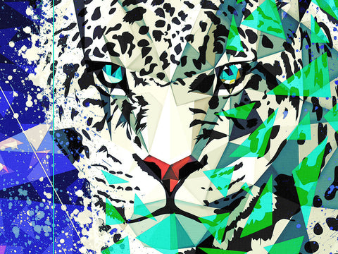 Snow Leopard Poster - Hey Prints Designer Posters - 2