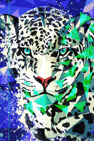 Snow Leopard Poster - Hey Prints Designer Posters - 1