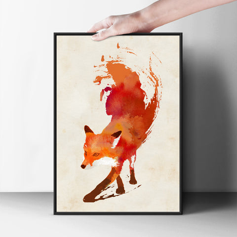 Red Hot Poster - Hey Prints Designer Posters - 5