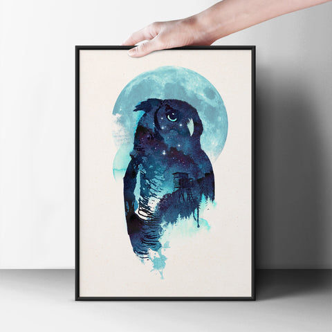 The Watchful Hunter Poster - Hey Prints Designer Posters - 5