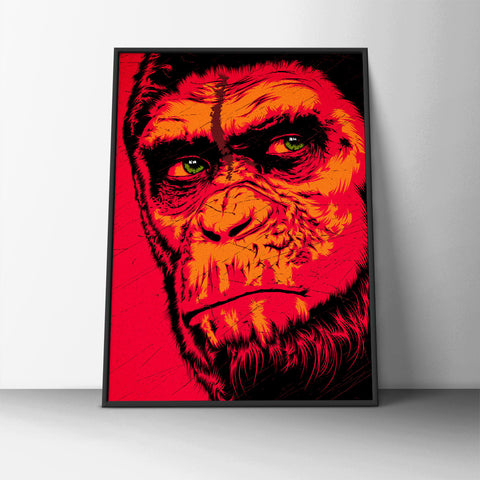 Ape Emotion Poster - Hey Prints Designer Posters - 3