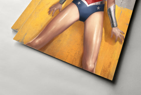 Wonder Woman Poster - Hey Prints Designer Posters - 6