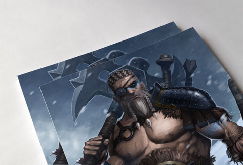 Barbarian Poster - Hey Prints Designer Posters - 5