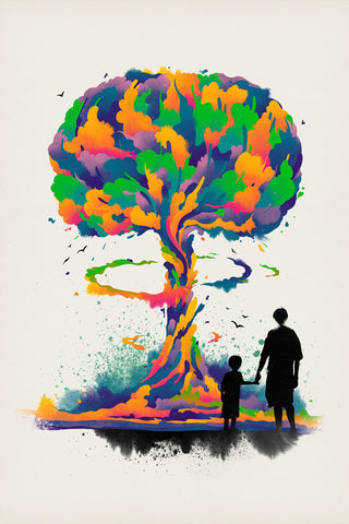 Tree of Wonder Poster - Hey Prints Designer Posters - 1
