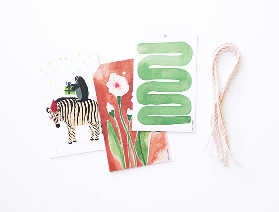 Party Wild Gift Tags