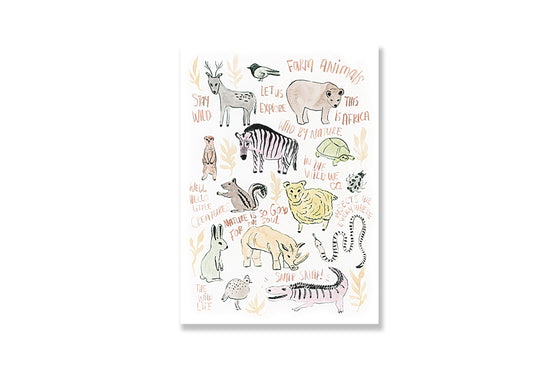 Animals Notepad