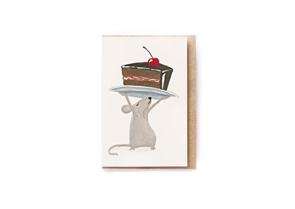 Cake Mouse card