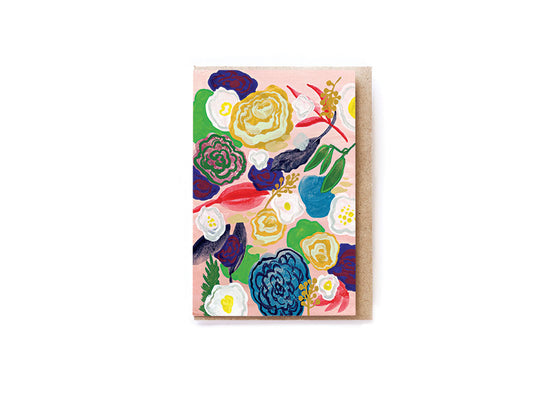 Flower Canvas card