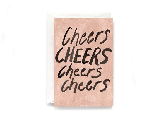 Party Bunch & Co Cheers cheers cheers Greeting Card