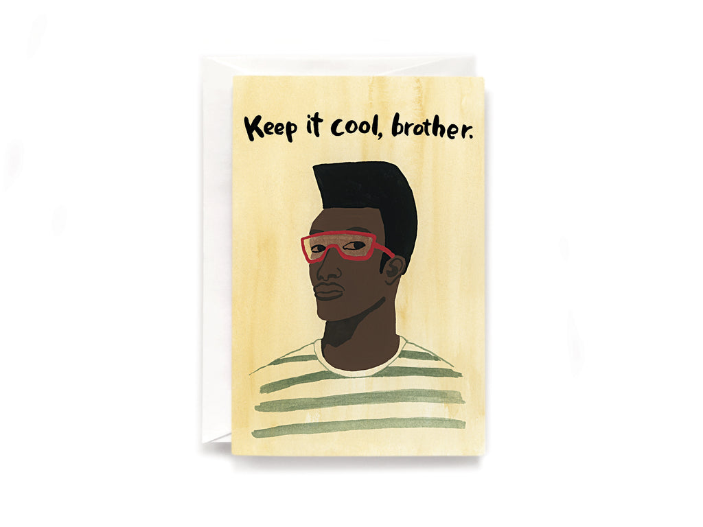 Cool brother card
