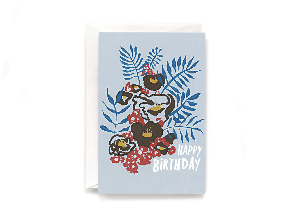 Party Bunch & Co Birthday Bouquet Greeting Card
