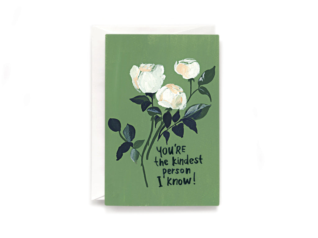 Party Bunch & Co Kindest person Greeting Card