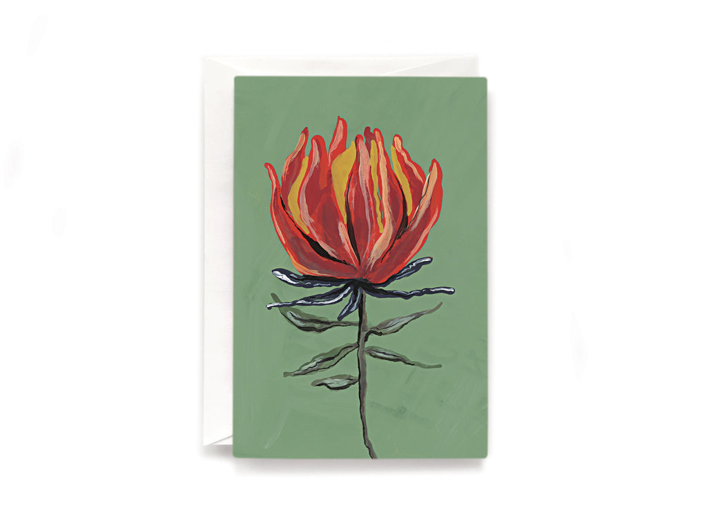 Party Bunch & Co Protea Greeting Card