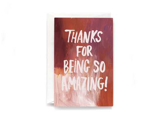 Party Bunch & Co So Amazing Greeting Card