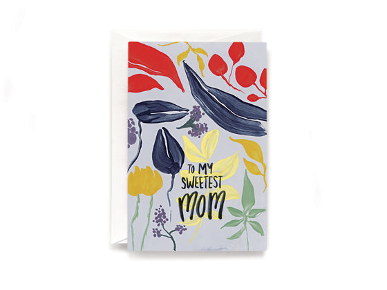 Party Bunch & Co Sweetest Mom Greeting Card