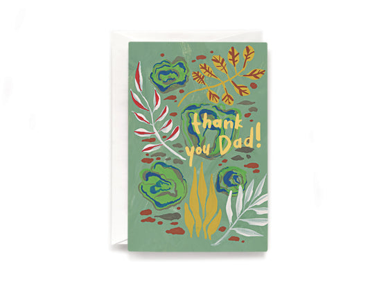 Party Bunch & Co Thank you Dad Greeting Card