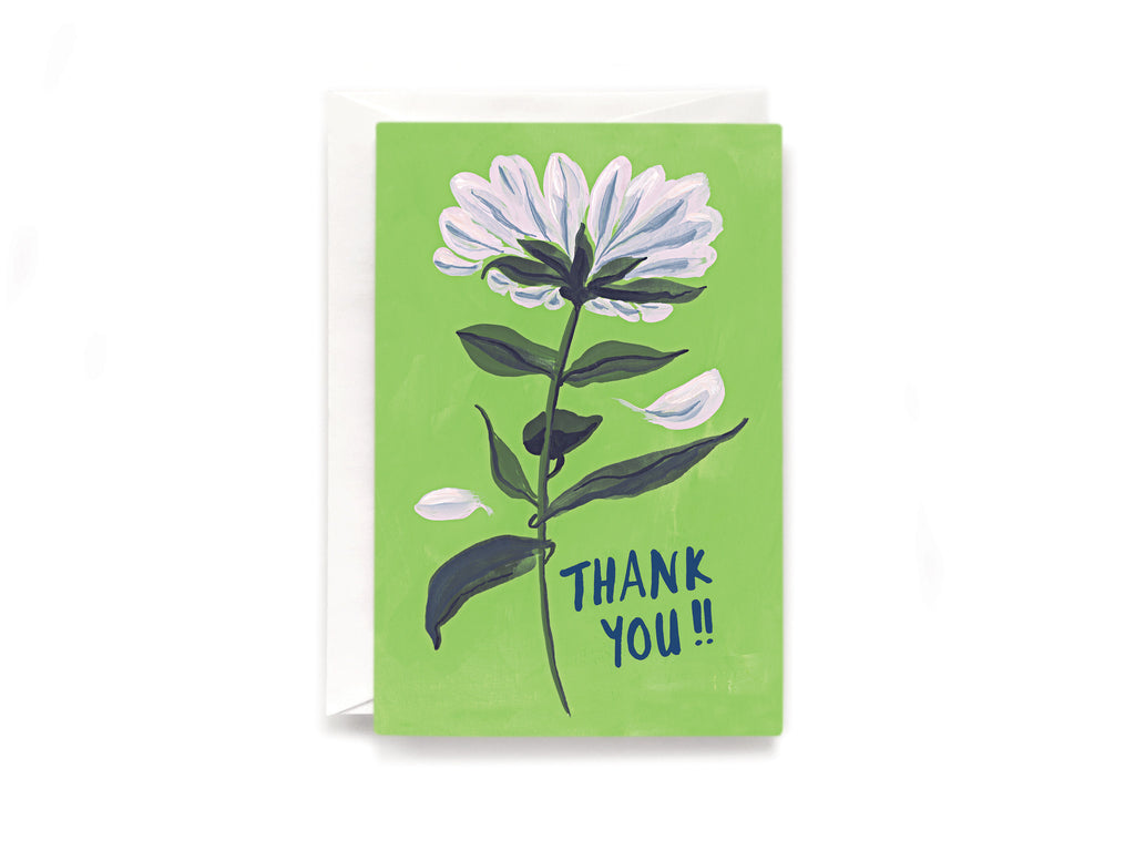 Party Bunch & Co Thank you daisy Greeting Card