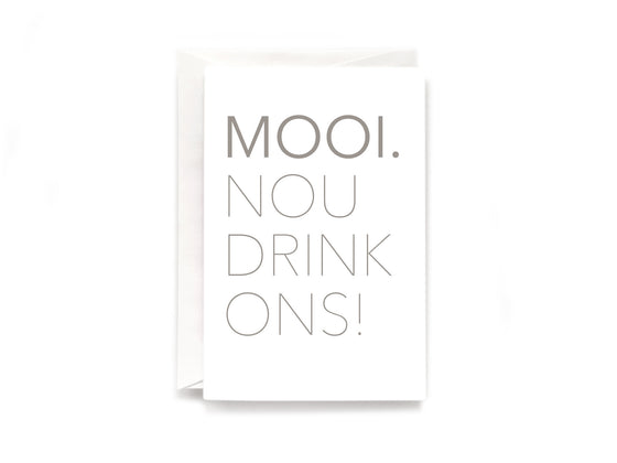 Party Bunch & Co Mooi (Afr) Greeting Card