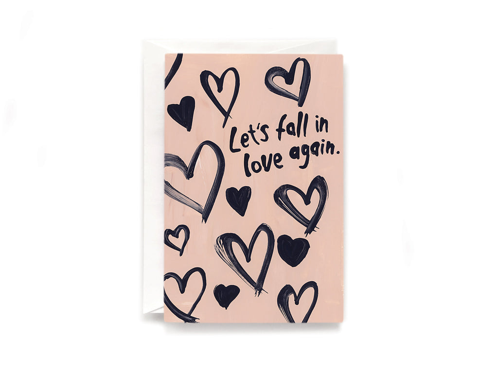 Party Bunch & Co Fall in love Greeting Card