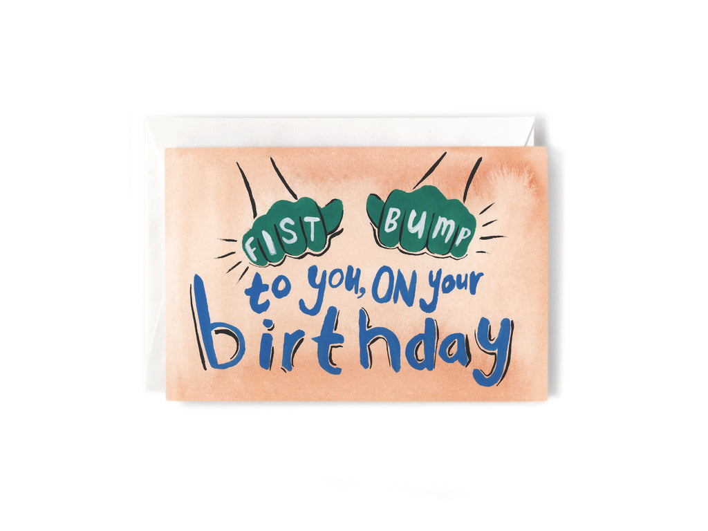Party Bunch & Co Fist bump Greeting Card