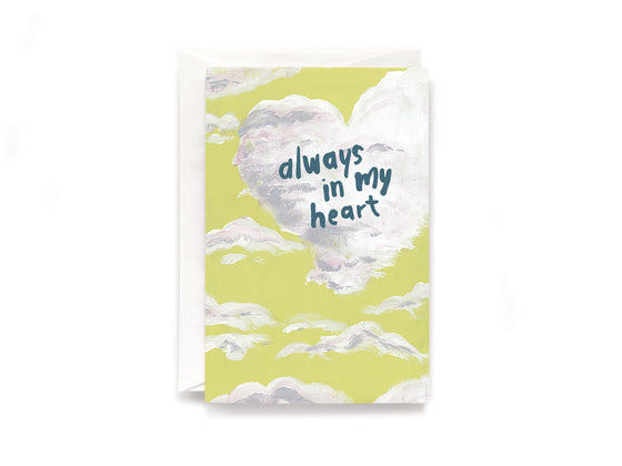 Party Bunch & Co Heart cloud Greeting Card