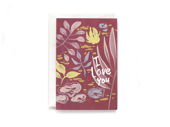 Party Bunch & Co I love you Greeting Card