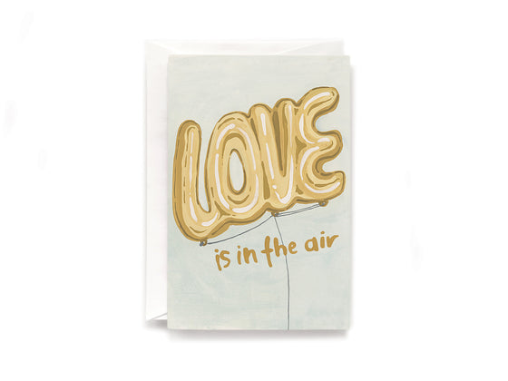Party Bunch & Co Love balloon Greeting Card