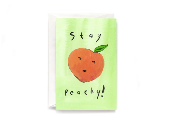 Party Bunch & Co Stay Peachy Greeting Card